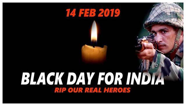 14 February Black Day, Pulwama (Jammu And Kashmir) Terror Attack