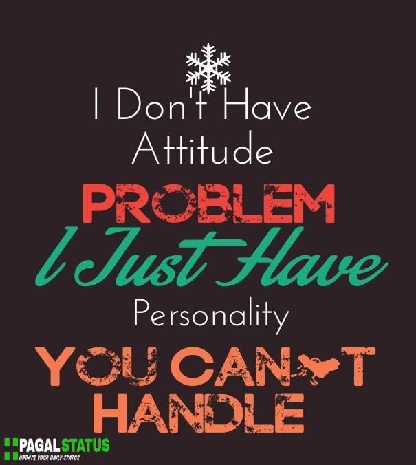 Best Attitude Status in Massages