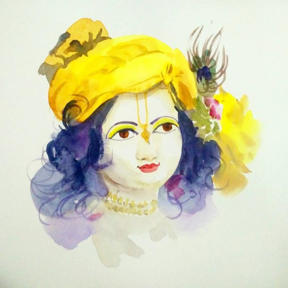 Sri Krishna DP For Whatsapp Dwonload