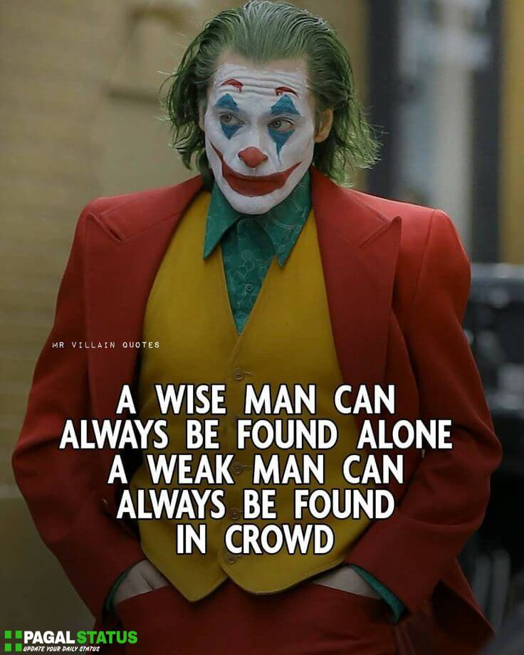 Alone Joker images Whatsapp DP