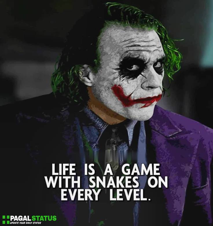 Life joker Shayari Whatsapp Status