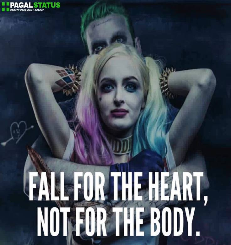 Joker Love Romantic images Qoute Status