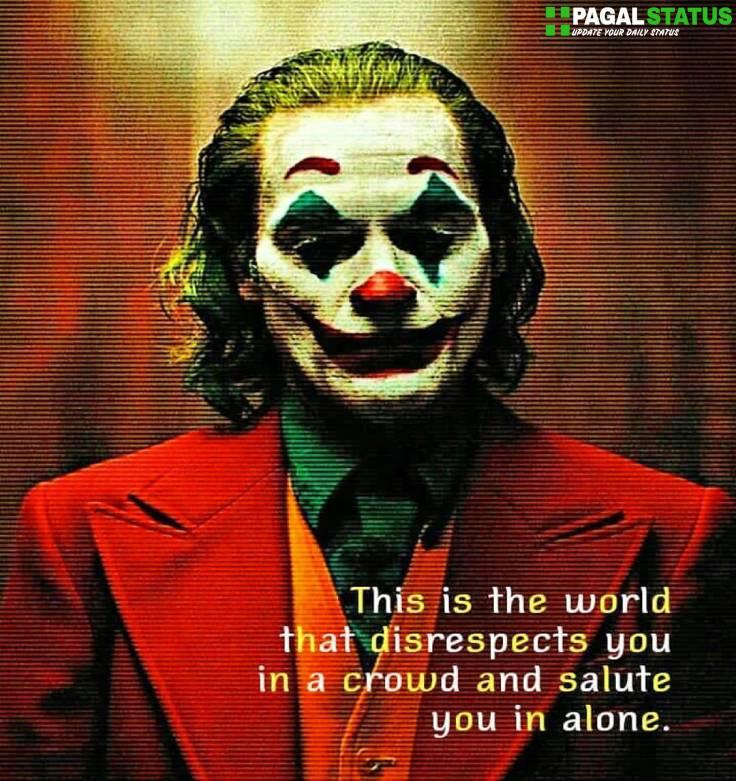 Joker Attitude Whatsapp DP Images Download