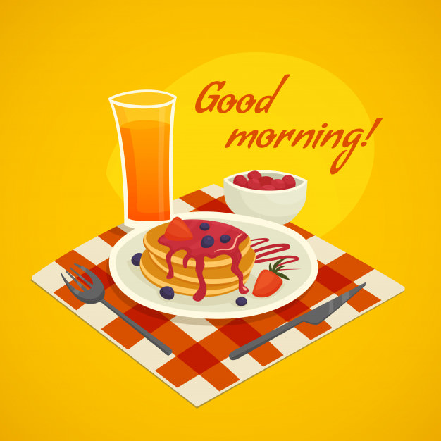 Good Morning Frist Foods Wishes Images