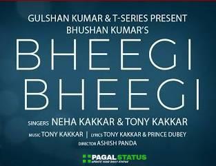 Bheegi Bheegi Song Neha Kakkar Tony Kakkar Status Video Download