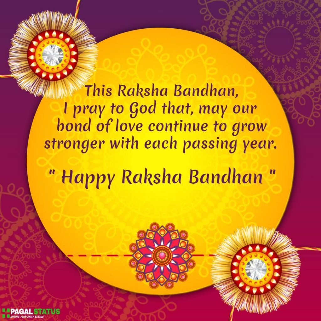Happy Raksha Bandhan Quotes With Images For Sisters