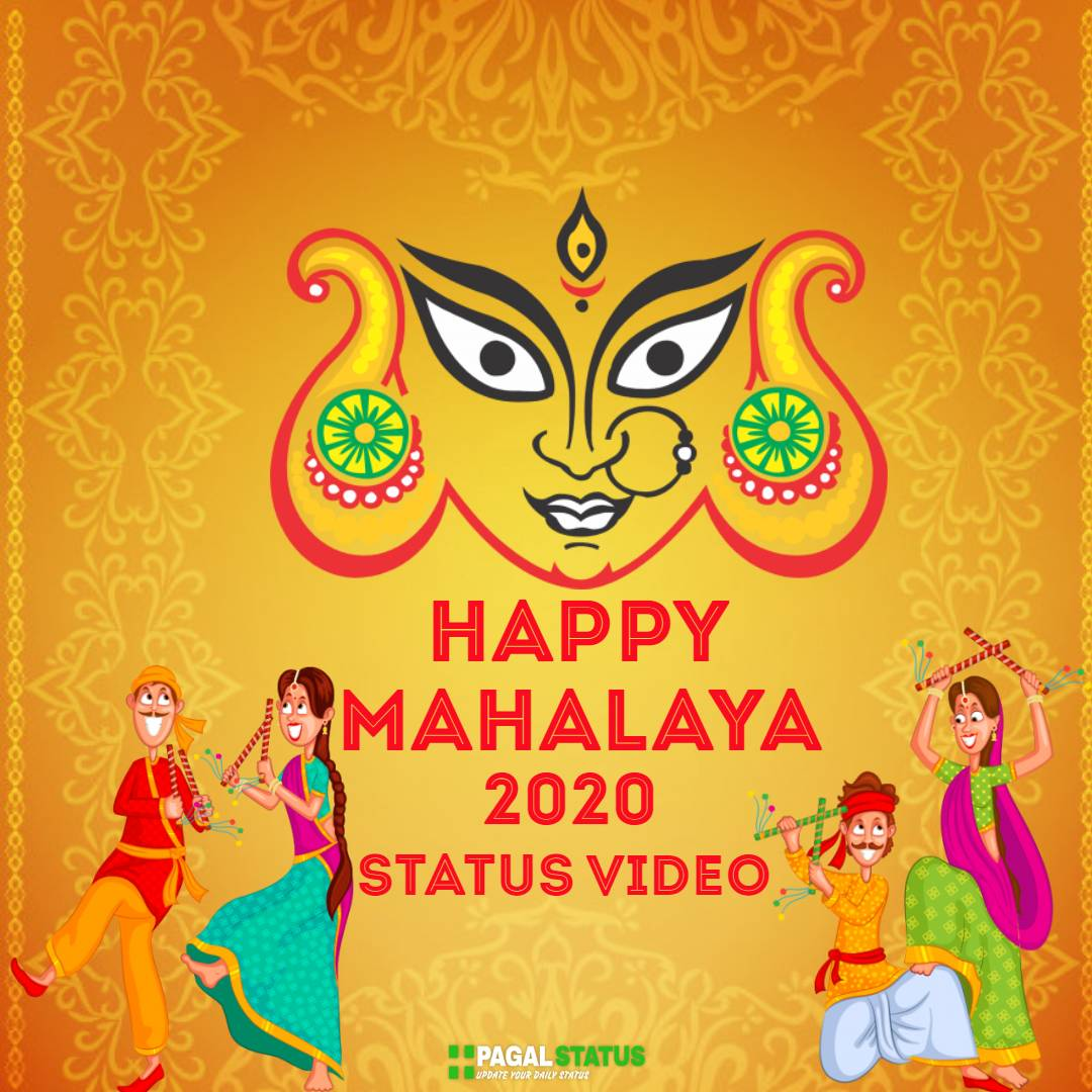 Happy Mahalaya 2020 Whatsapp Status Video Download