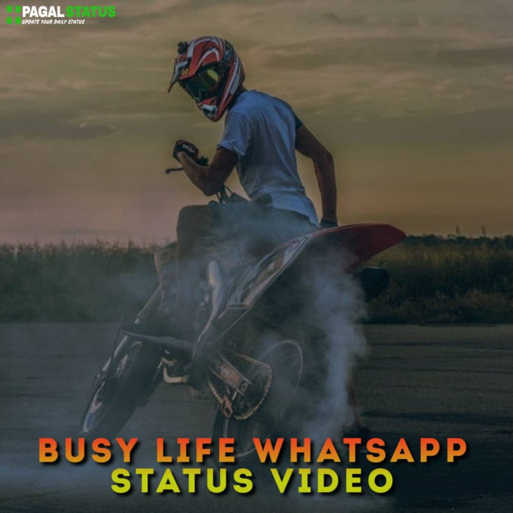Busy Life Whatsapp Status Video Download