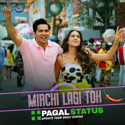 Mirchi Lagi Toh Song Coolie No1 Status Video Download