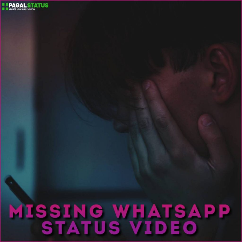Missing Whatsapp Status Video Download