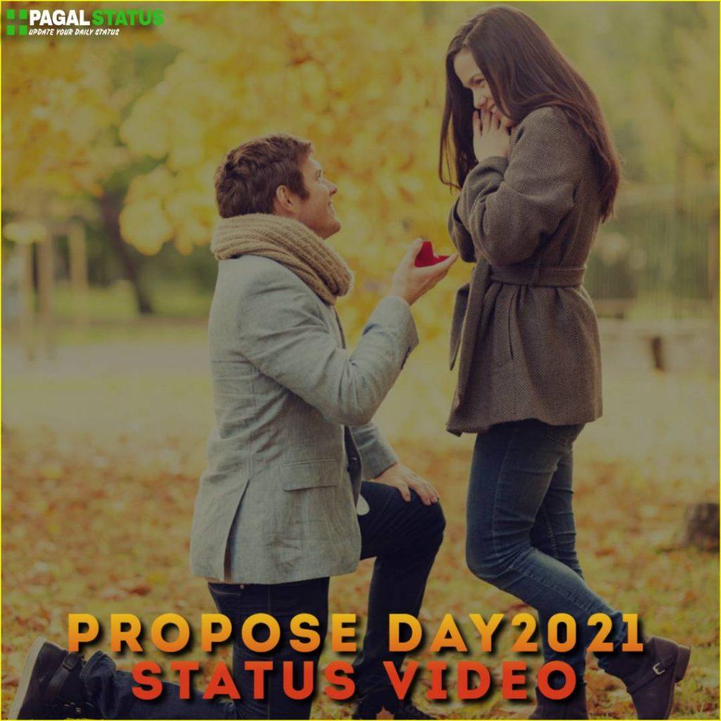 Propose Day 2021 Status Video Download