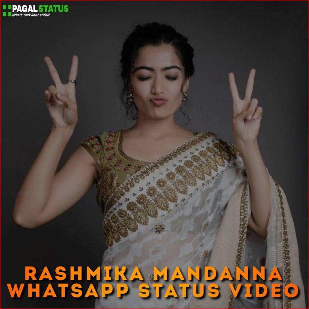 Rashmika Mandanna Whatsapp Status Video Download
