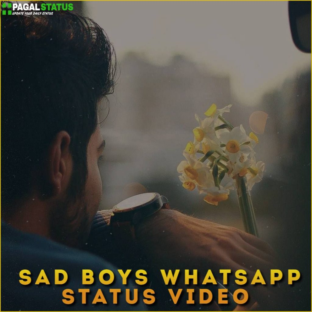 Sad Boys Whatsapp Status Video Download