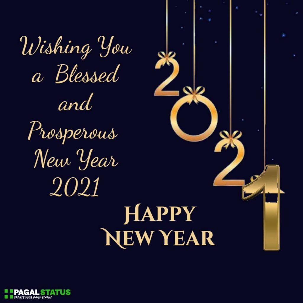 Short New Year 2021 Status For Whatsapp