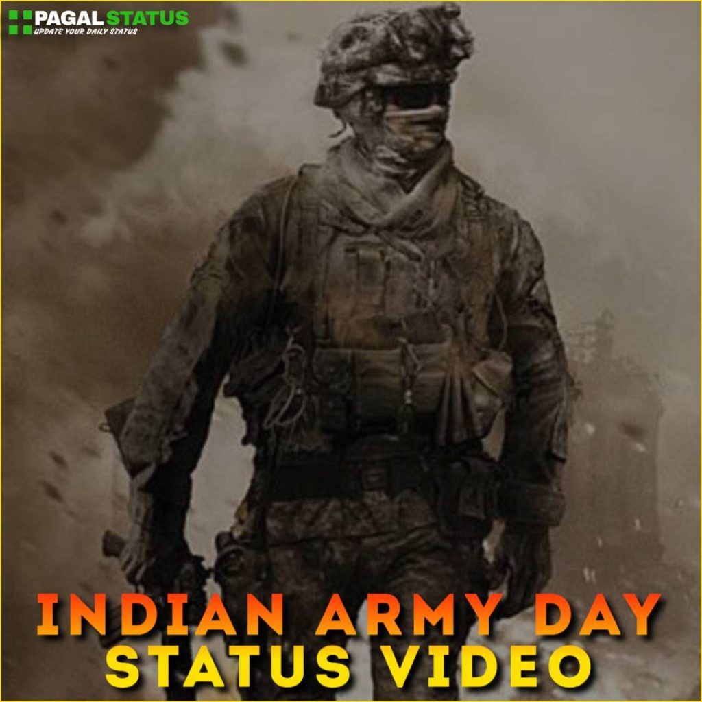 Indian Army Day Status Video Download