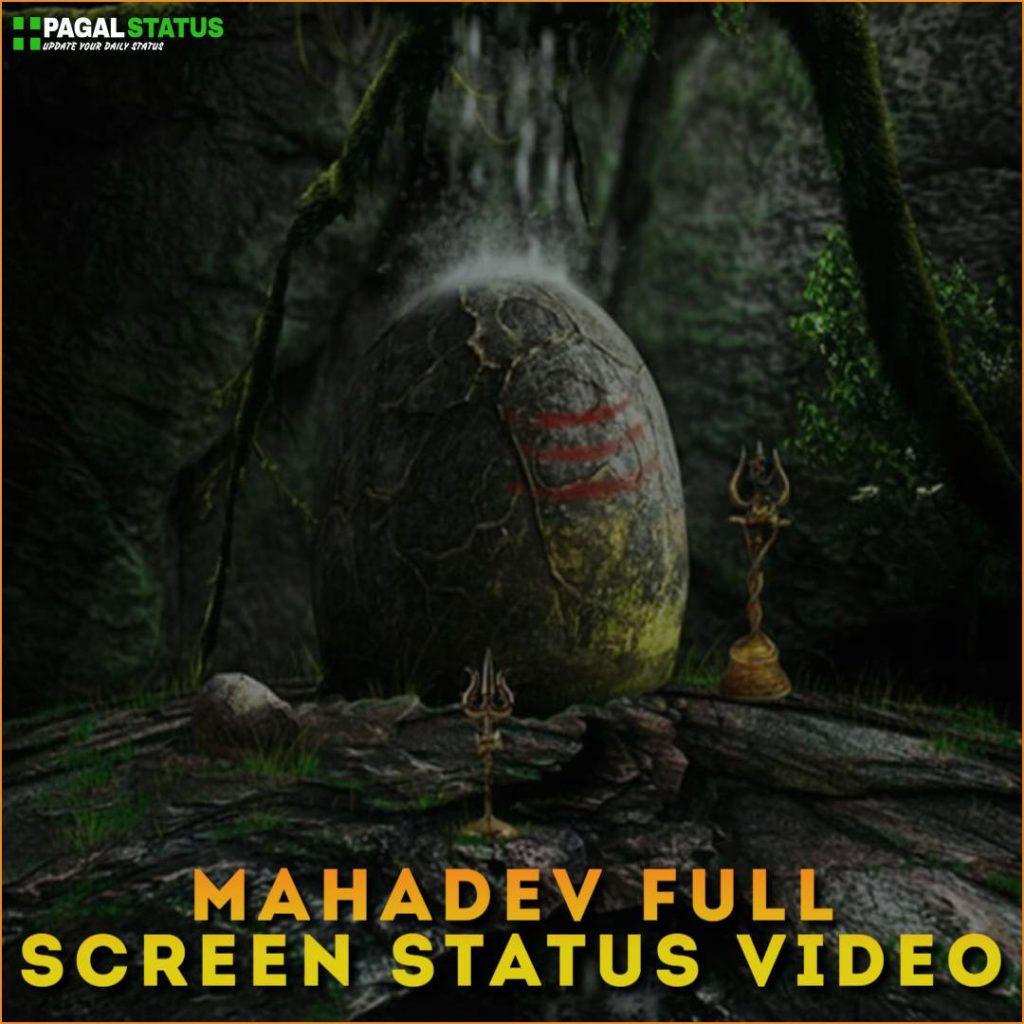 Mahadev Full Screen Whatsapp Status Video