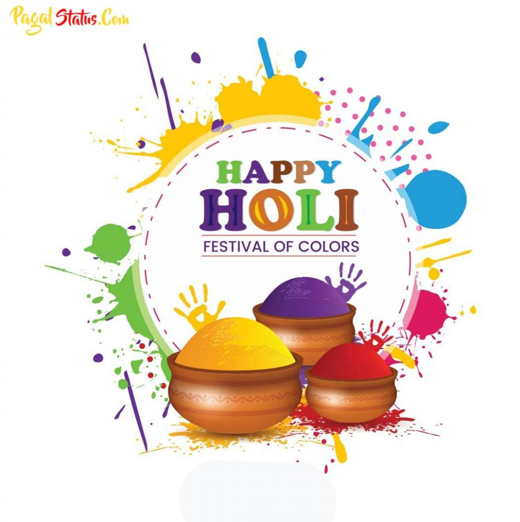 Happy Holi Images With Quotes In English