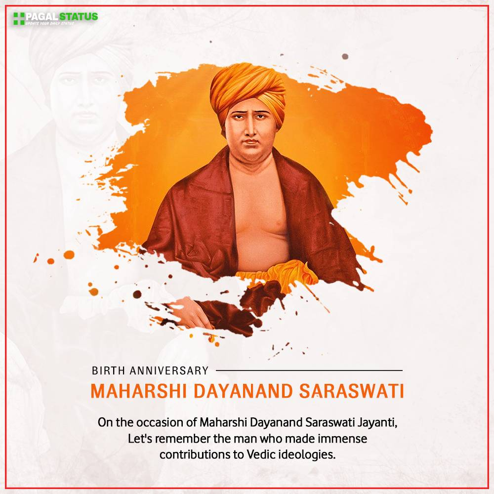 Maharshi Dayanand Saraswati Jayanti 2021 Status Video