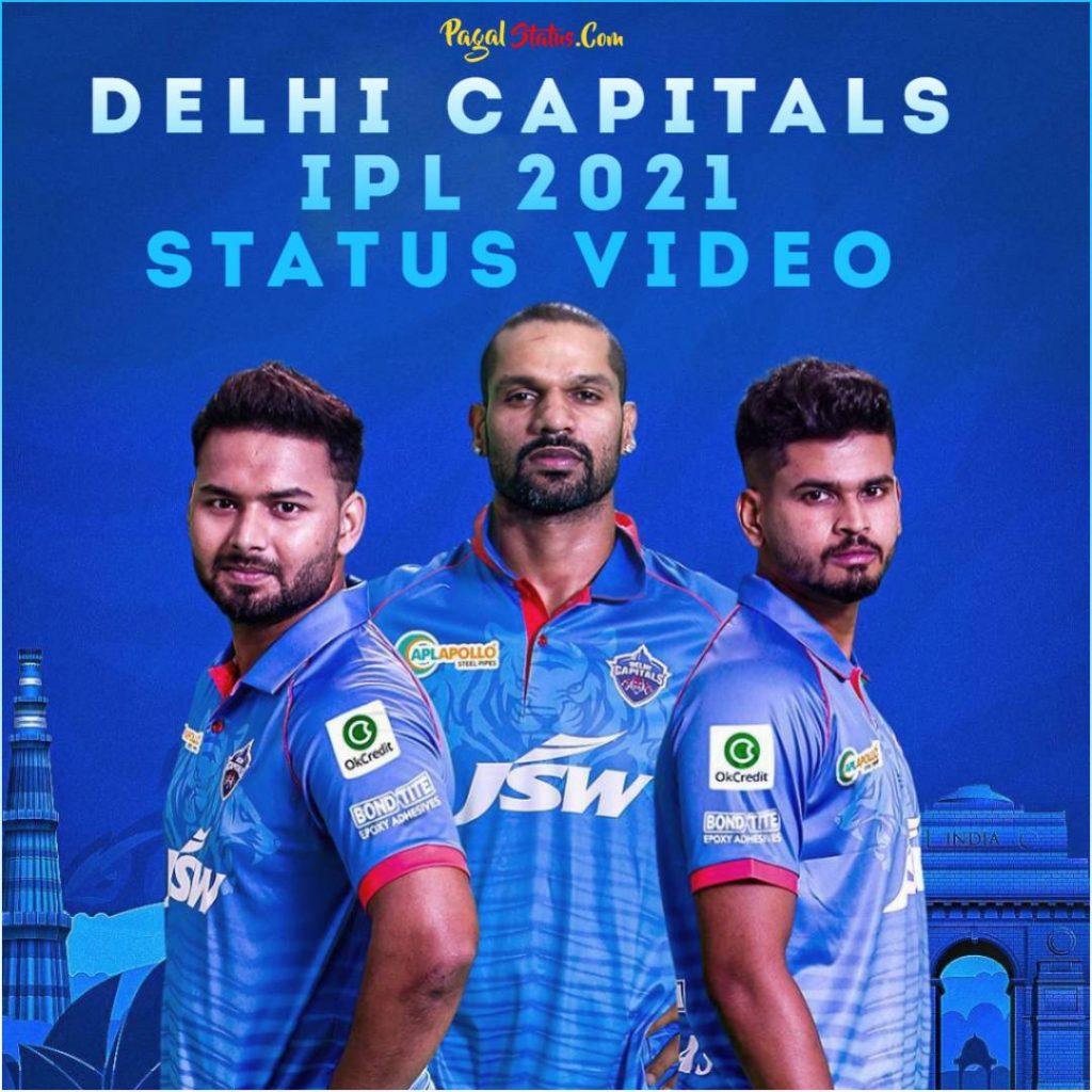 Delhi Capitals IPL 2021 Status Video