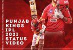 Punjab Kings IPL 2021 Status Video