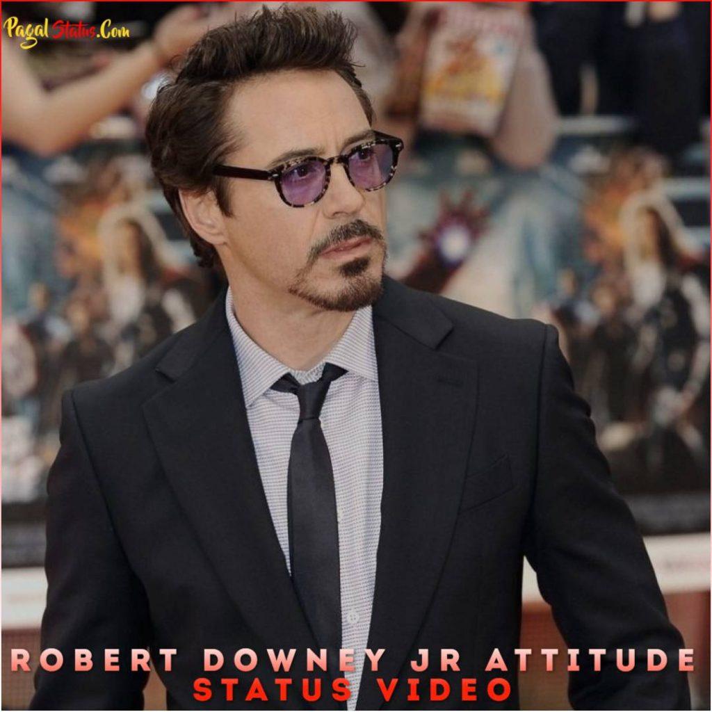 Robert Downey Jr Attitude Whatsapp Status Video
