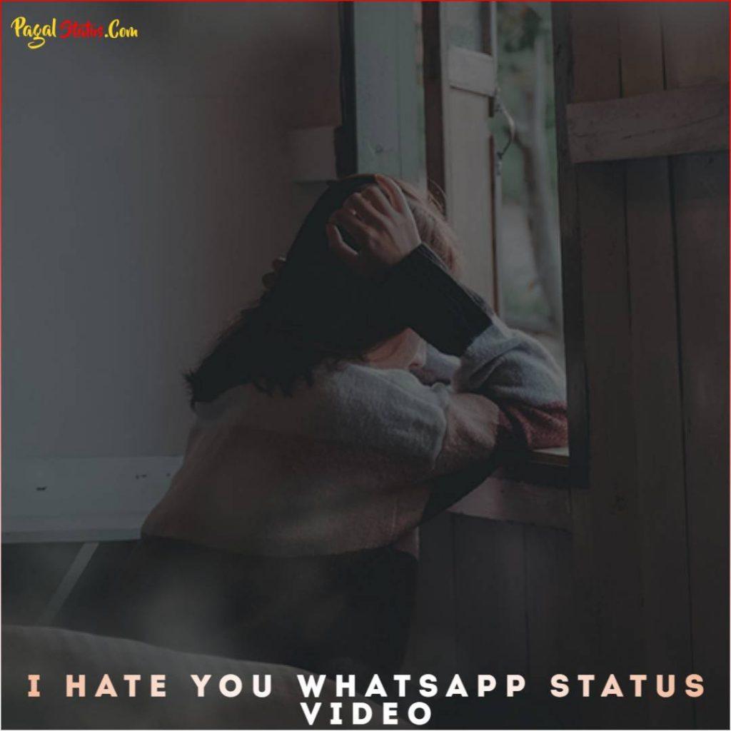 I Hate You Whatsapp Status Video