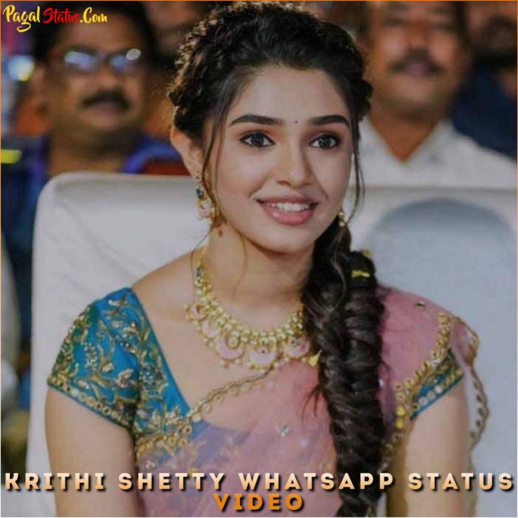 Krithi Shetty Whatsapp Status Video