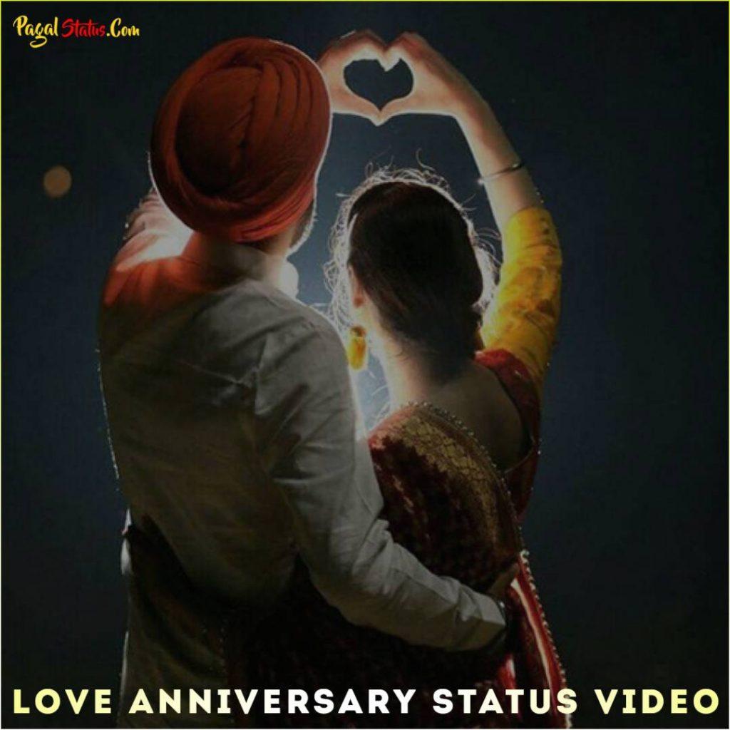 Love Anniversary Whatsapp Status Video