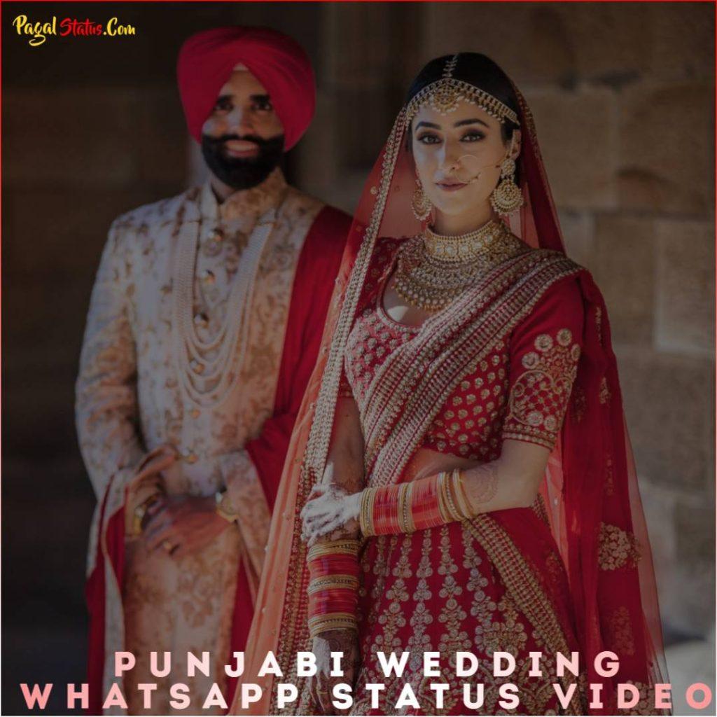 Punjabi Wedding Whatsapp Status Video