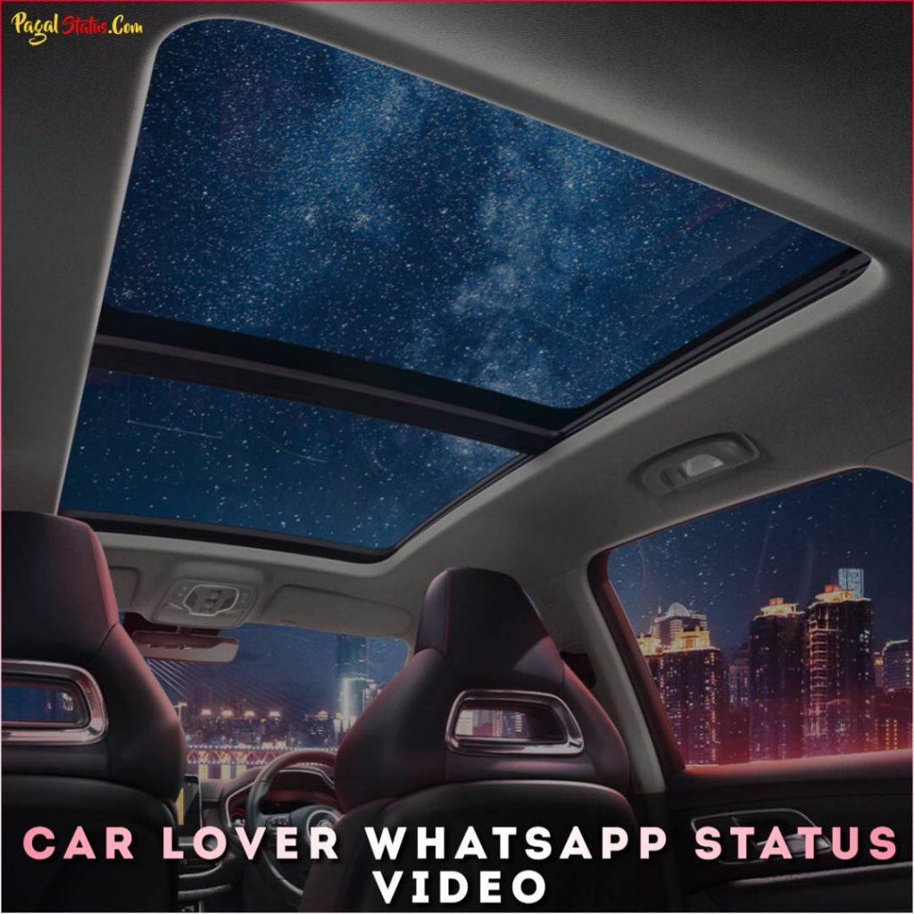 Car Lover Whatsapp Status Video