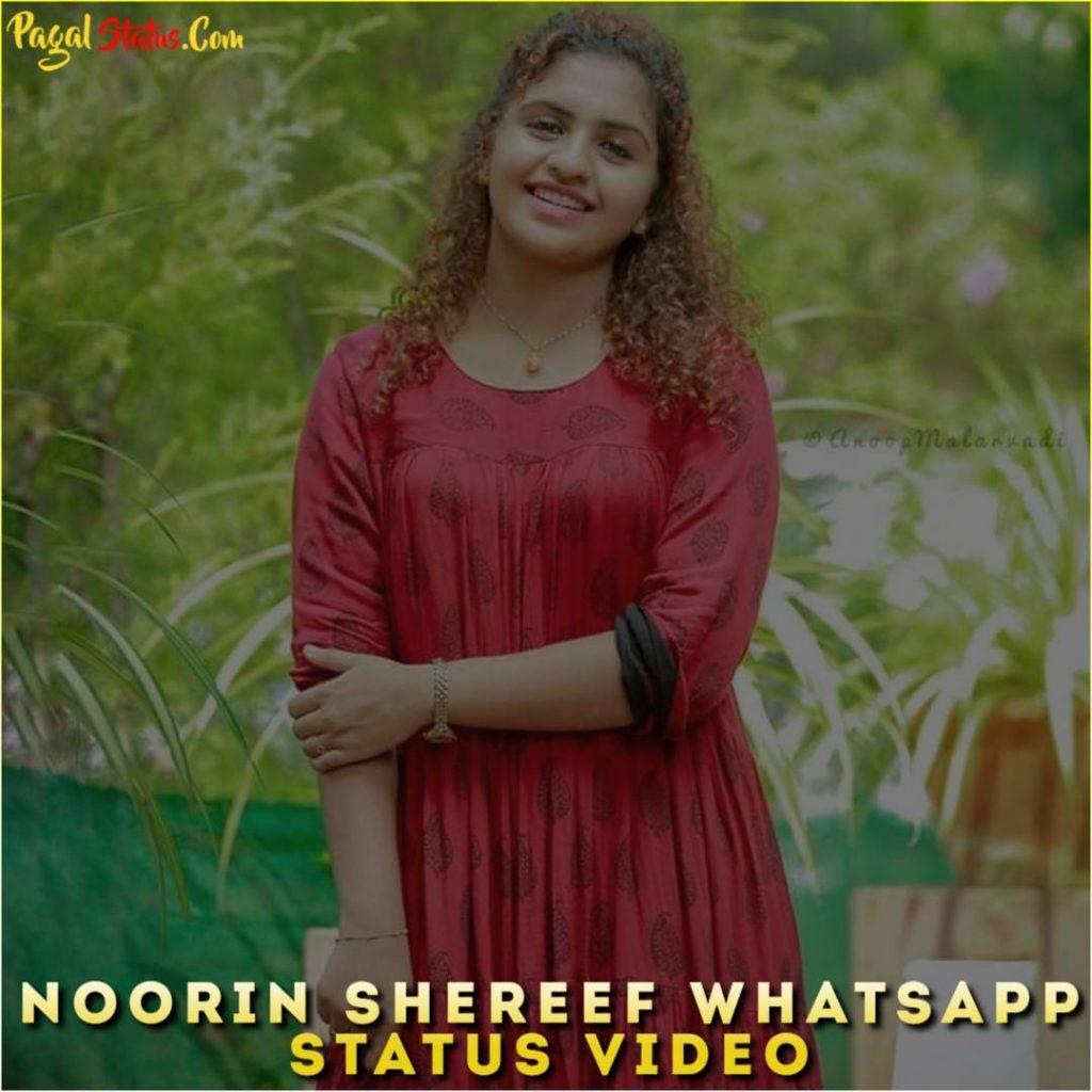 Noorin Shereef Whatsapp Status Video