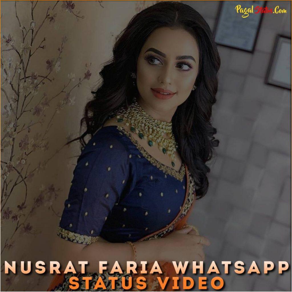 Nusrat Faria Whatsapp Status Video
