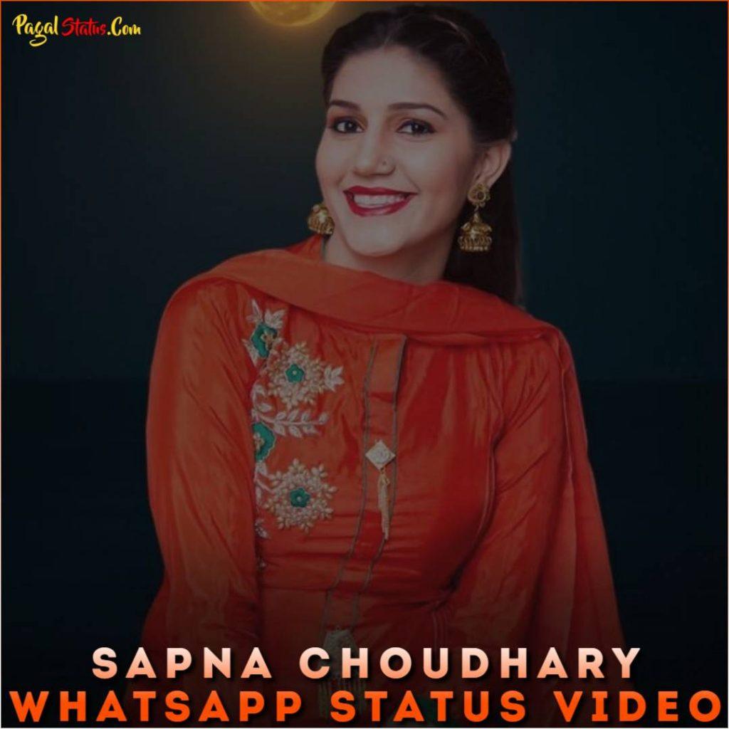 Sapna Choudhary Whatsapp Status Video