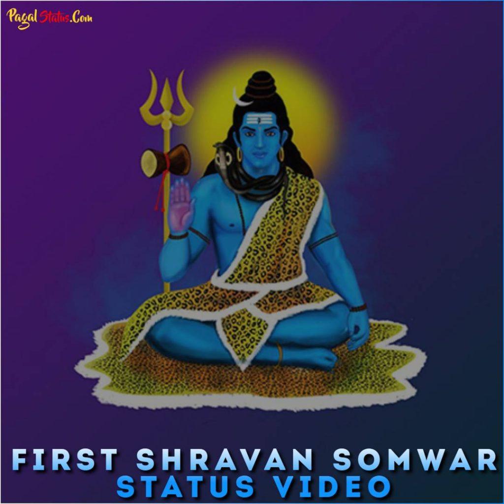 First Shravan Somwar Status Video