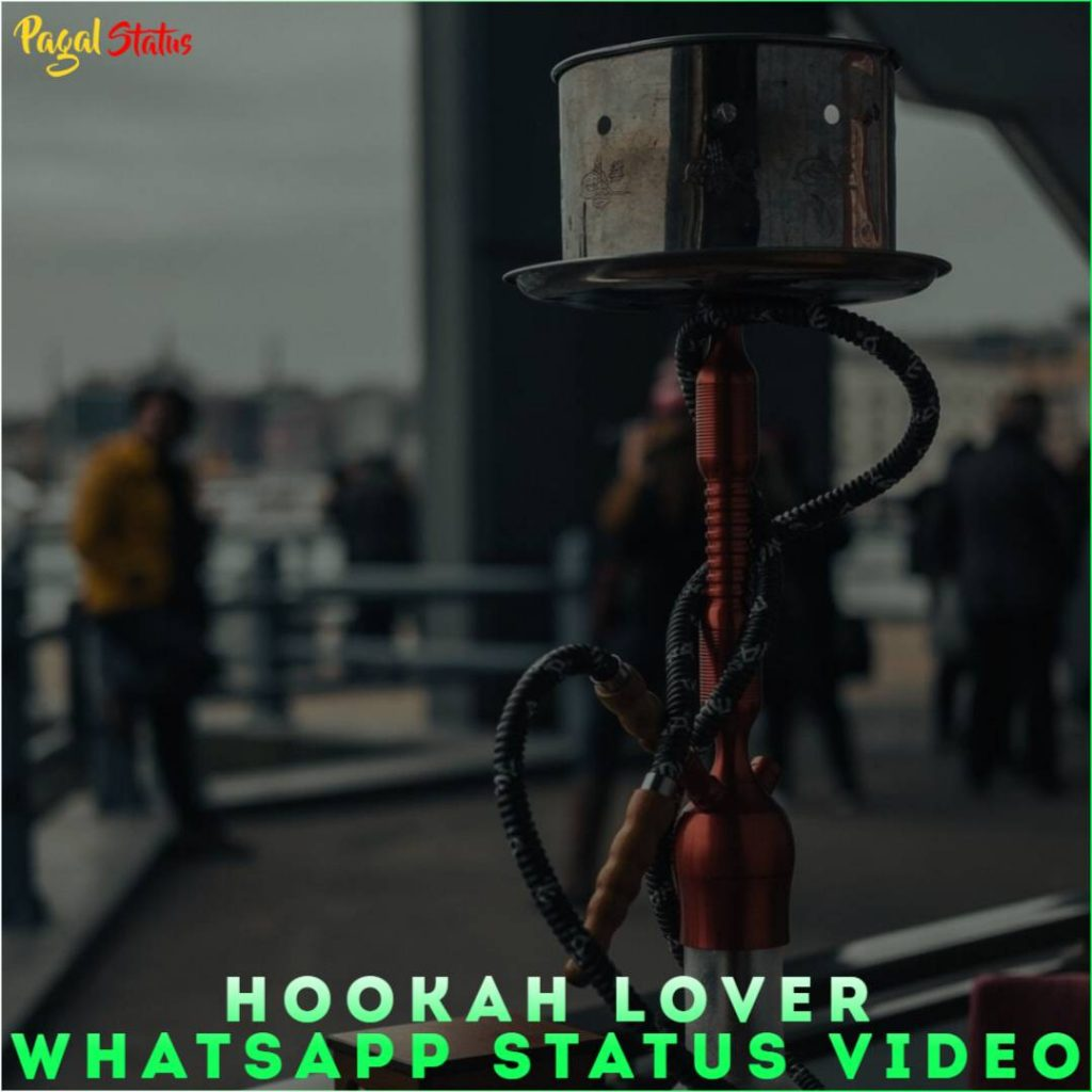 Hookah Lover Whatsapp Status Video