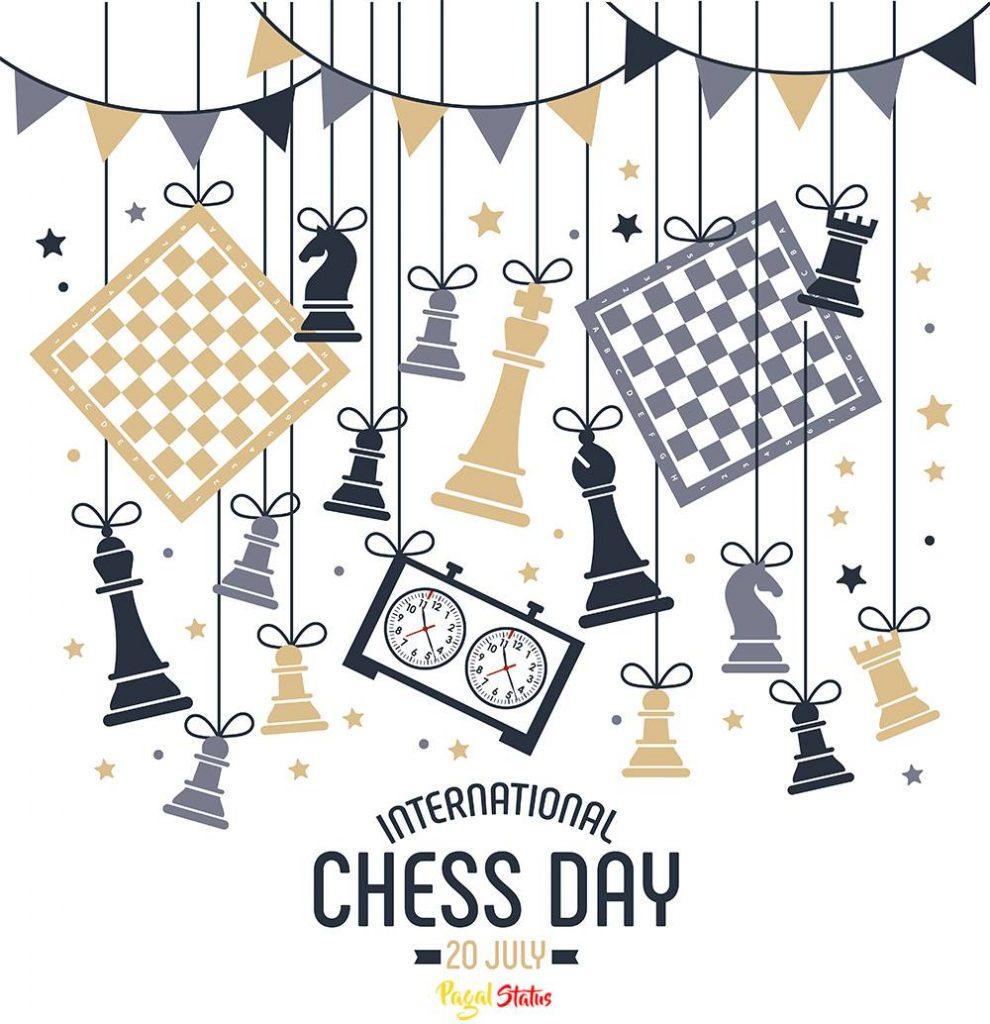 International Chess Day 2021 Status Video