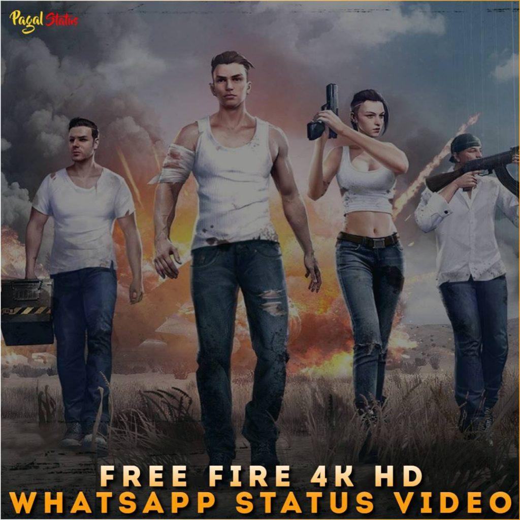 Free Fire 4k HD Whatsapp Status Video