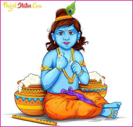 Shree Krishna Birthday Whatsapp Status Video