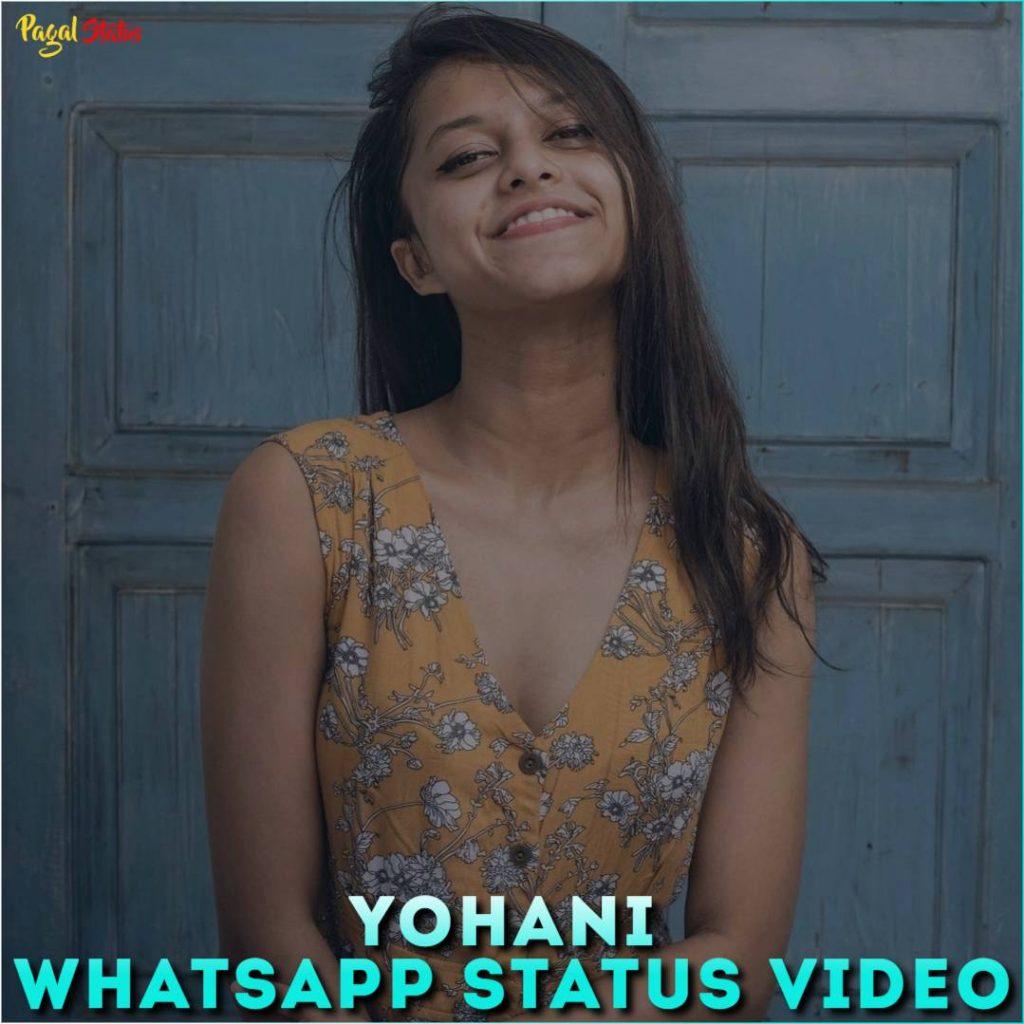 Yohani Whatsapp Status Video