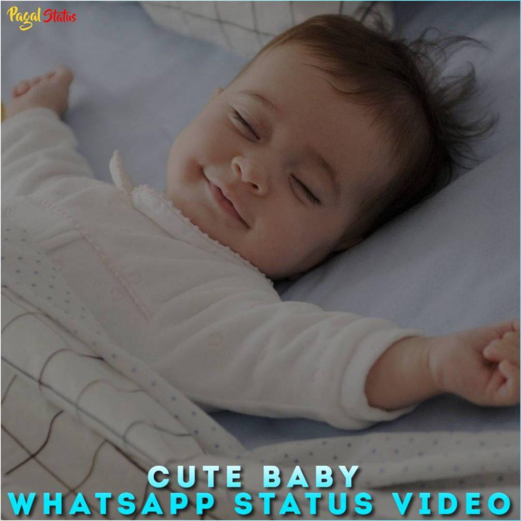 Cute Baby Whatsapp Status Video