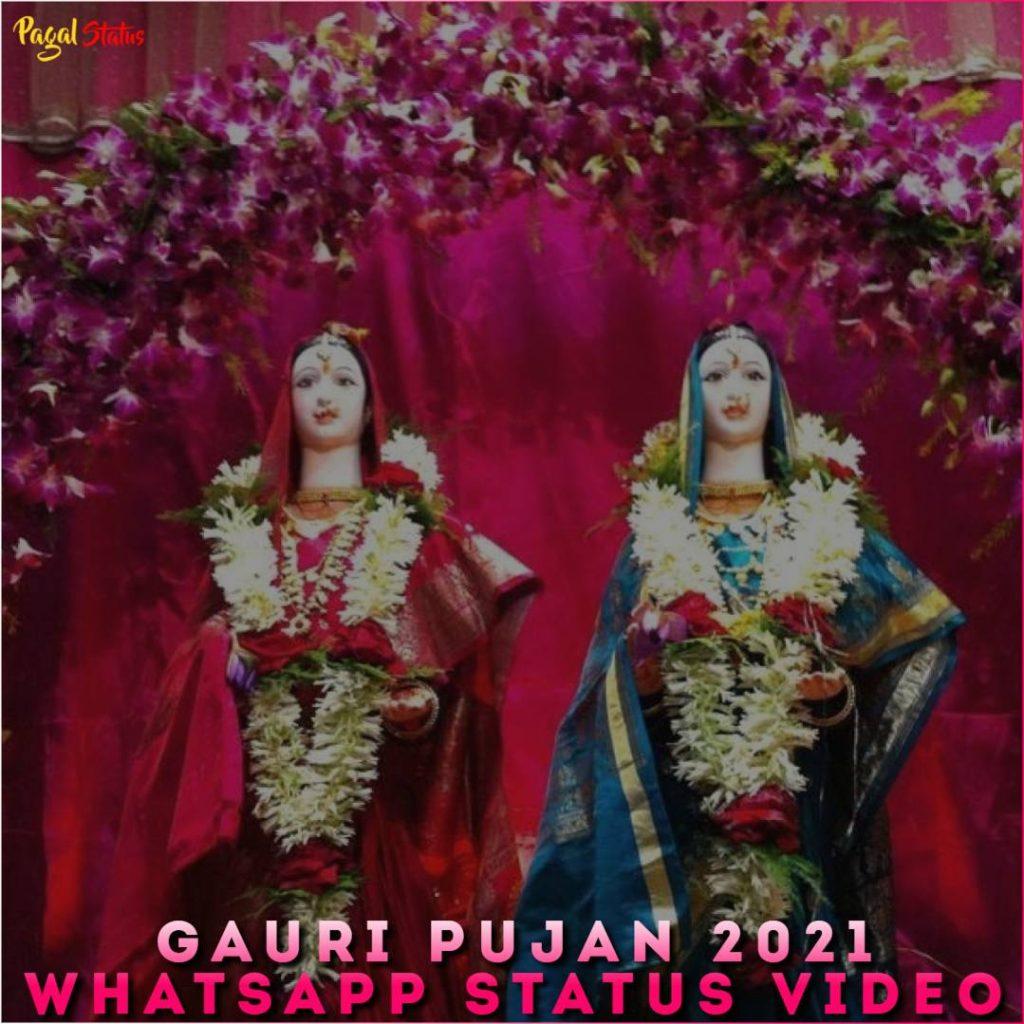 Gauri Pujan 2021 Whatsapp Status Video