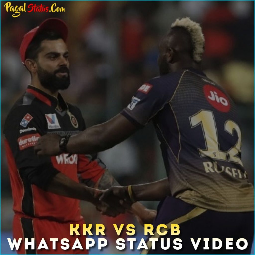 KKR vs RCB Whatsapp Status Video