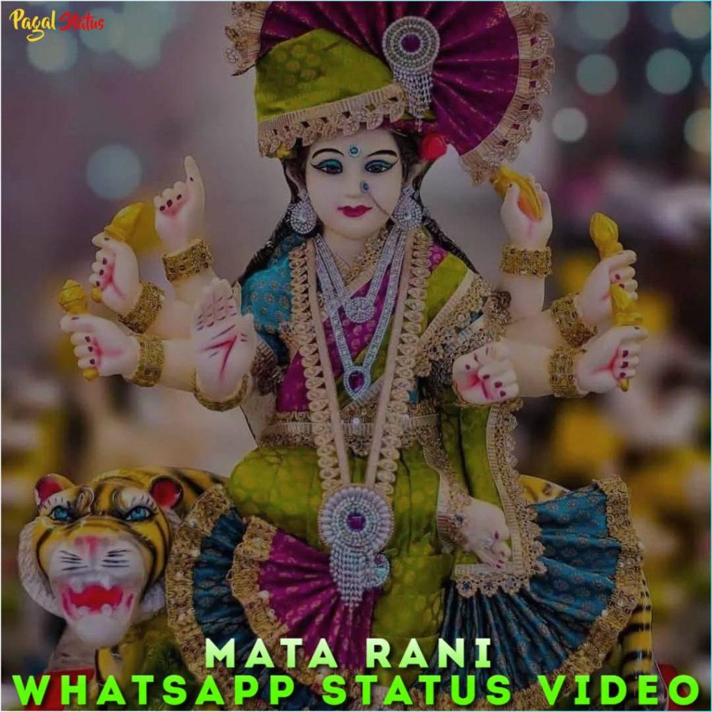 Mata Rani Whatsapp Status Video