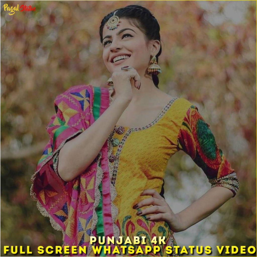 Punjabi 4K Full Screen Whatsapp Status Video