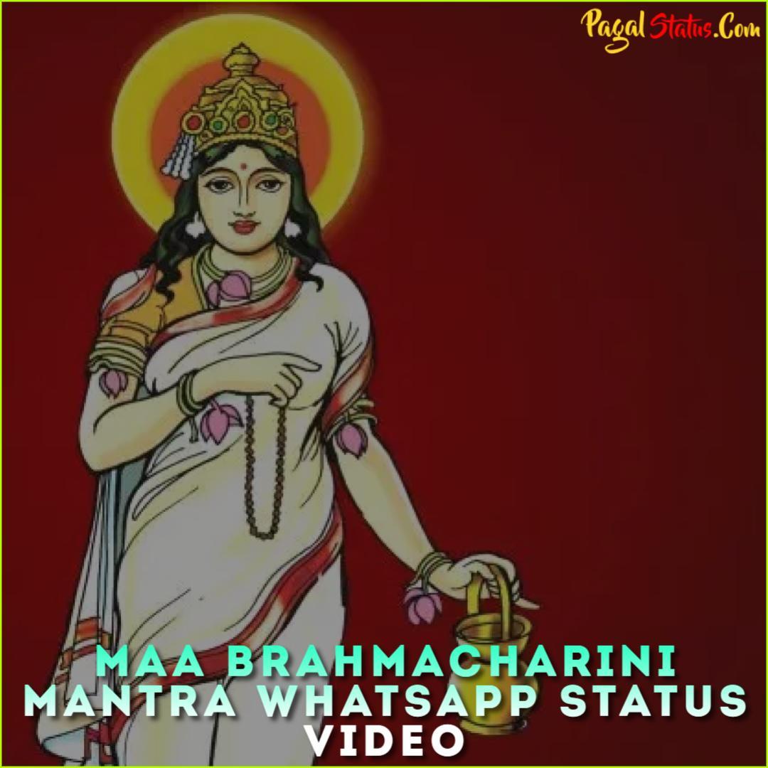 Maa Brahmacharini Mantra Whatsapp Status Video