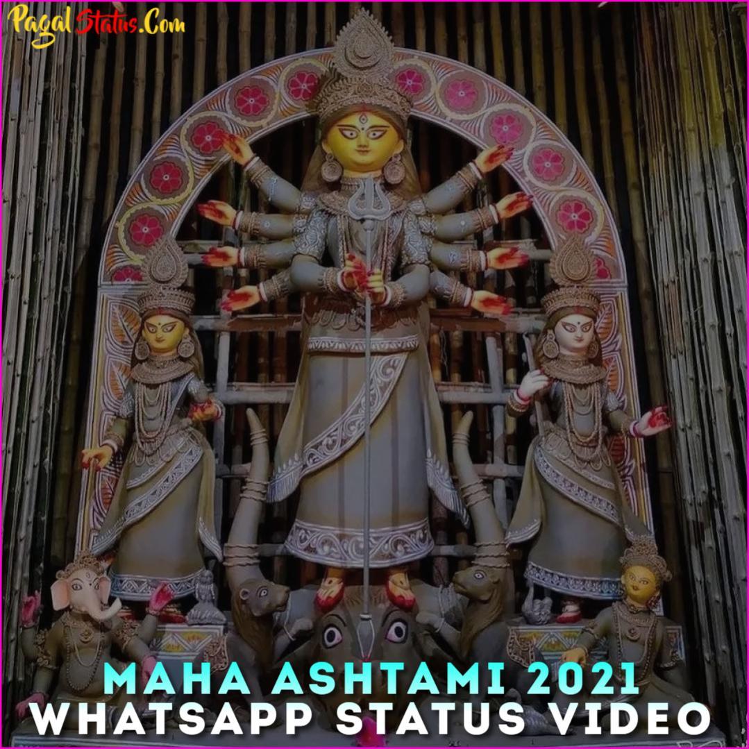 Maha Ashtami 2021 Whatsapp Status Video